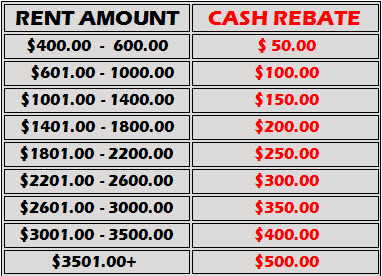 Fort Worth Apartment Cash Rebate